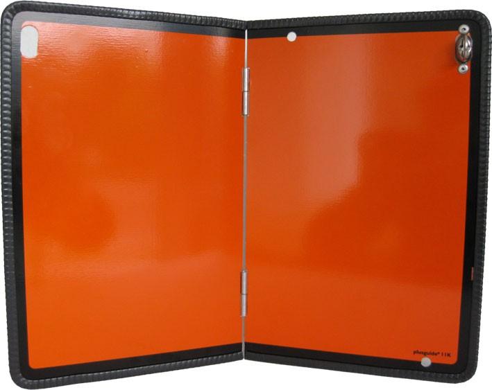 ADR Tafel orange - Warntafel (A) klappbar