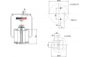 Luftfederbalg RML 7052 CP
