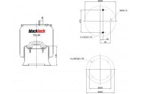 Luftfederbalg RML 75921 C5
