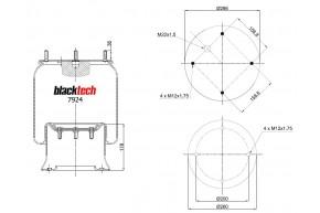Luftfederbalg RML 7924 C