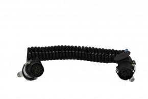 Wendelleitung 15-polig, 4,5m