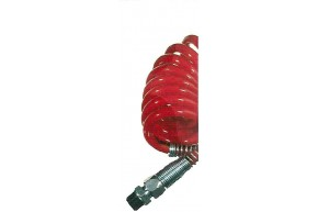 Luftwendel mit Knickschutz, rot, 3,5m