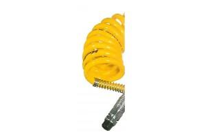 Luftwendel mit Knickschutz, gelb, 3,5m 22 Windungen
