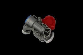 Kupplungsköpfe M16 x 1,5, rot, Vorrat, Automatik, vertauschsicher