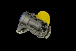 Kupplungsköpfe M16 x 1,5, gelb, Bremse, Automatik, vertauschsicher