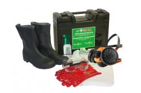 Schutzausrüstung im Koffer, 73 SN HBM